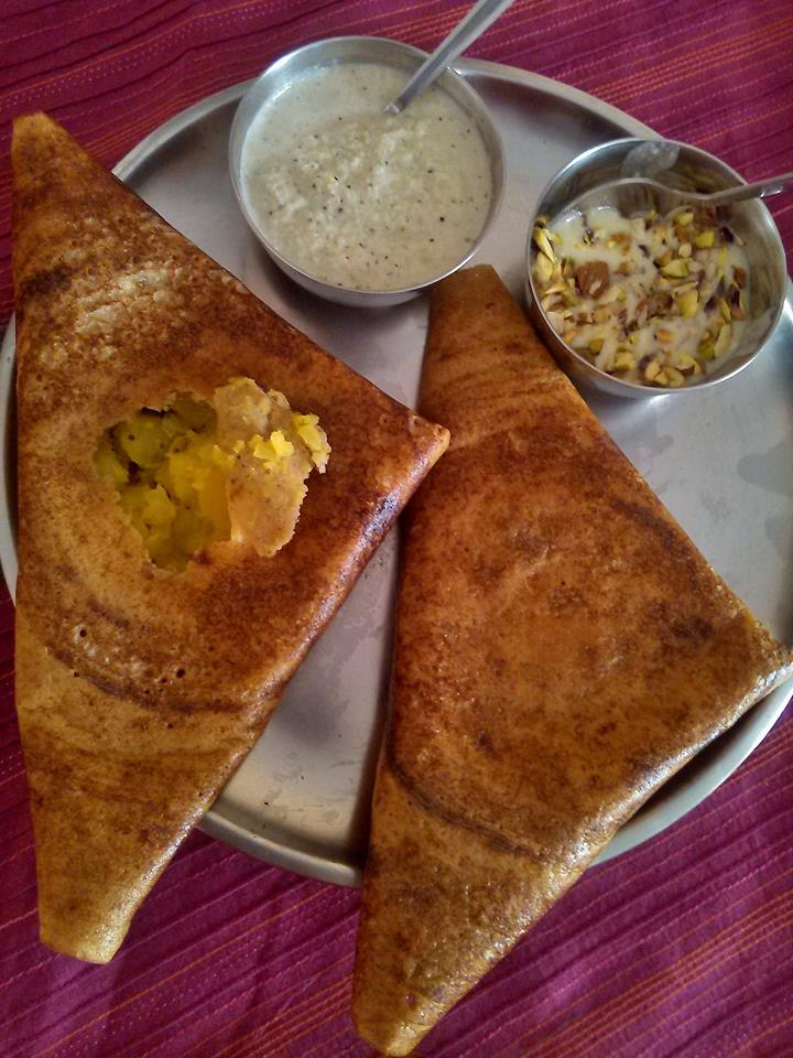 LENTILS (BELE) & PULSES (KAALU) MASALE DOSA / DOSAY
