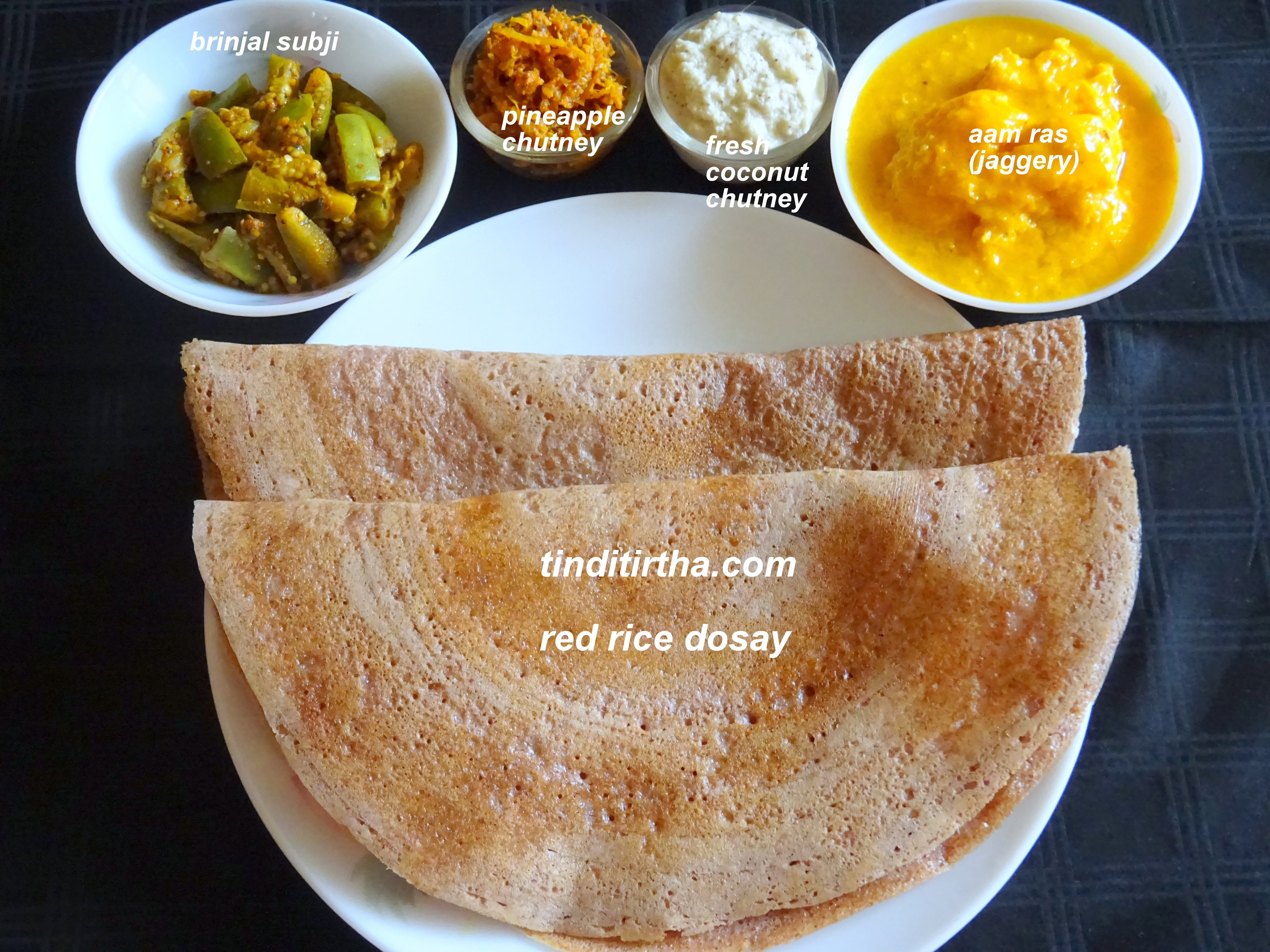 RED RICE DOSAY/DOSA