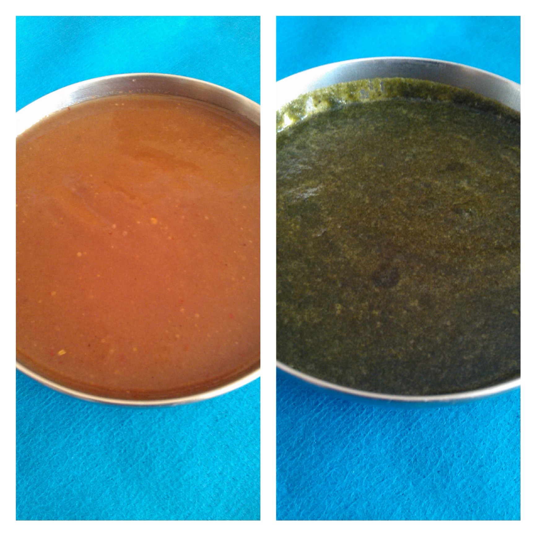 SWEET CHUTNEY & GREEN CHUTNEY FOR CHATS