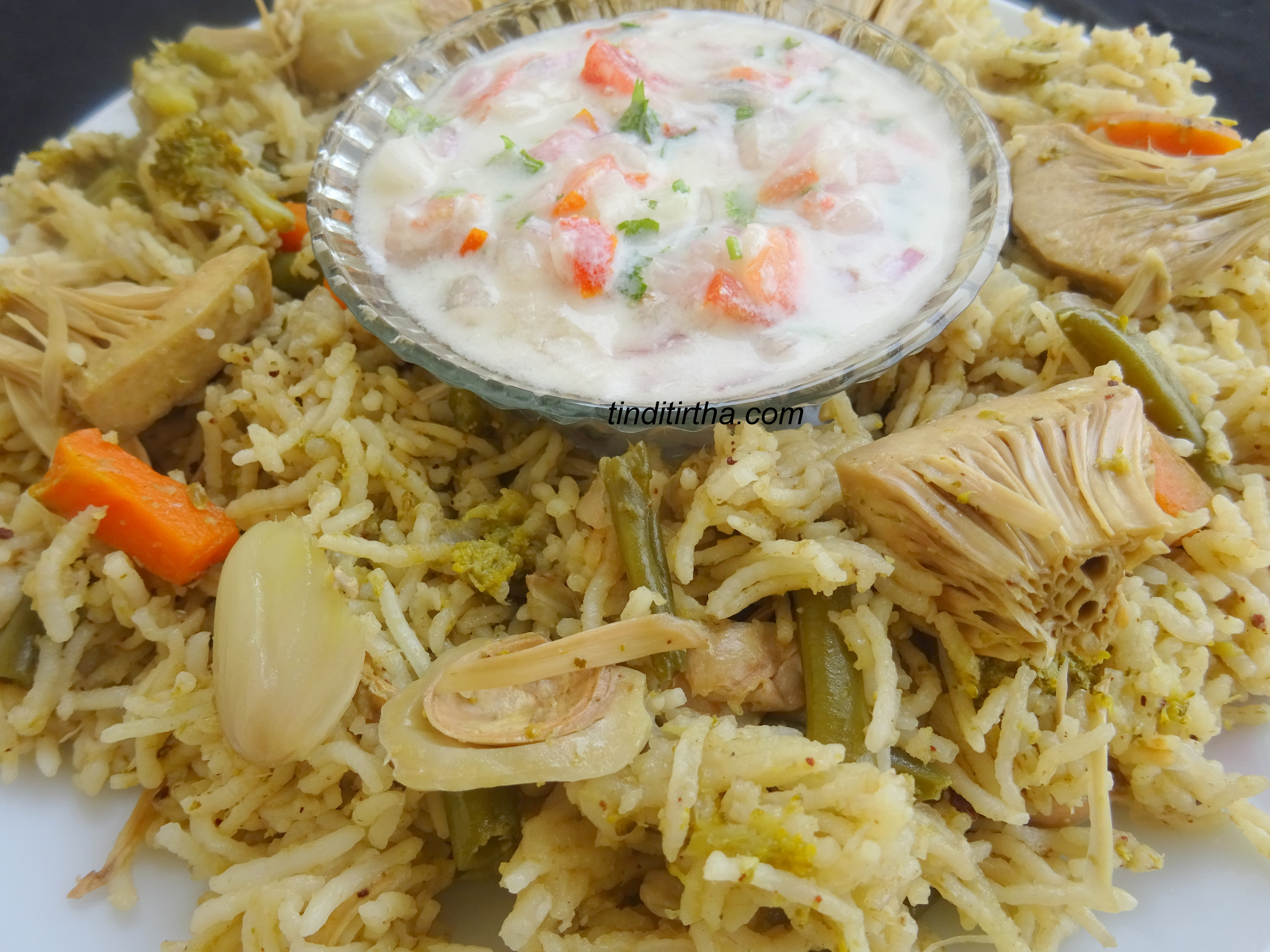 JACKFRUIT VEGETABLE PULAO