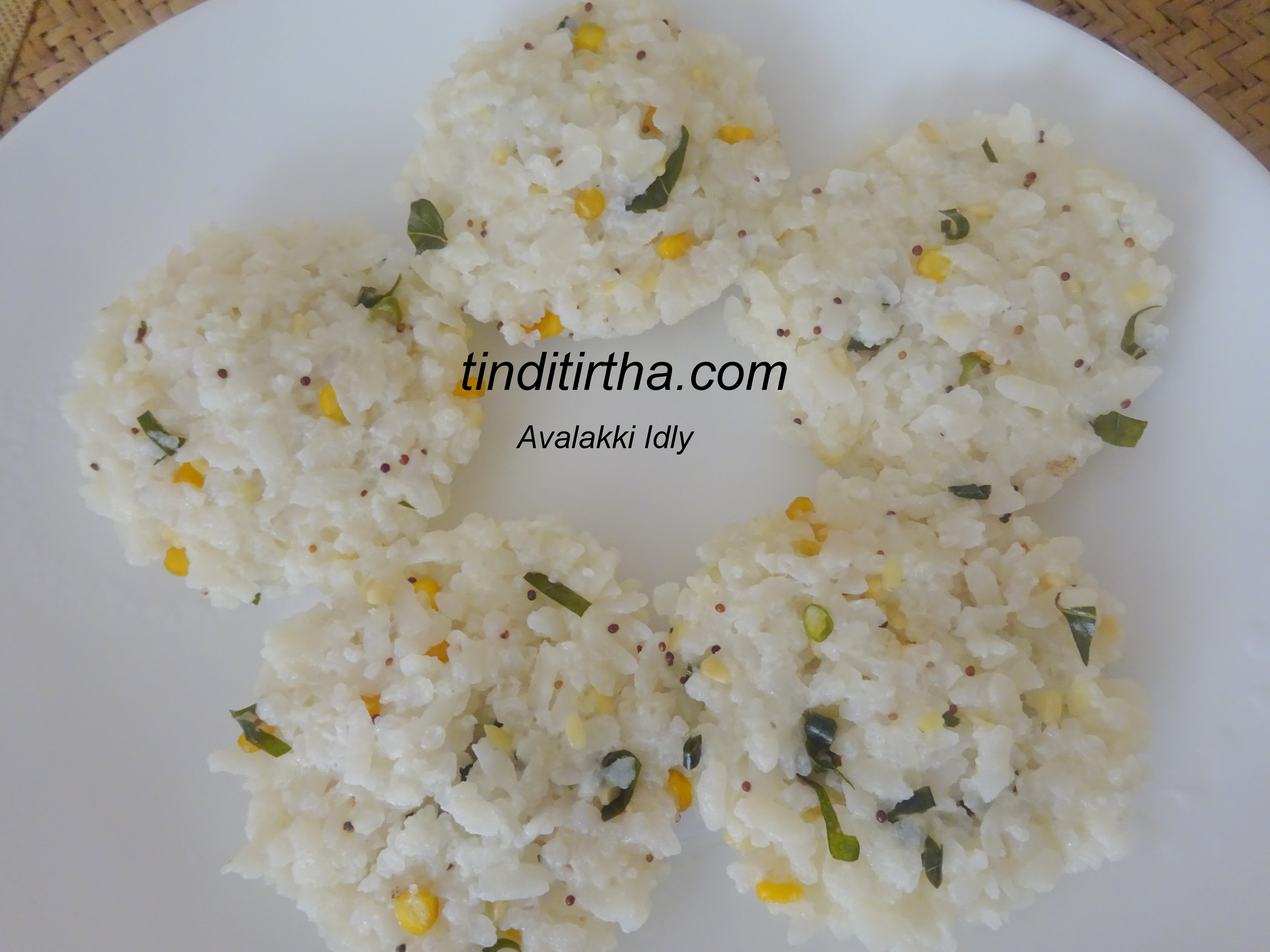 BEATEN RICE / AVALAKKI /POHA IDLY