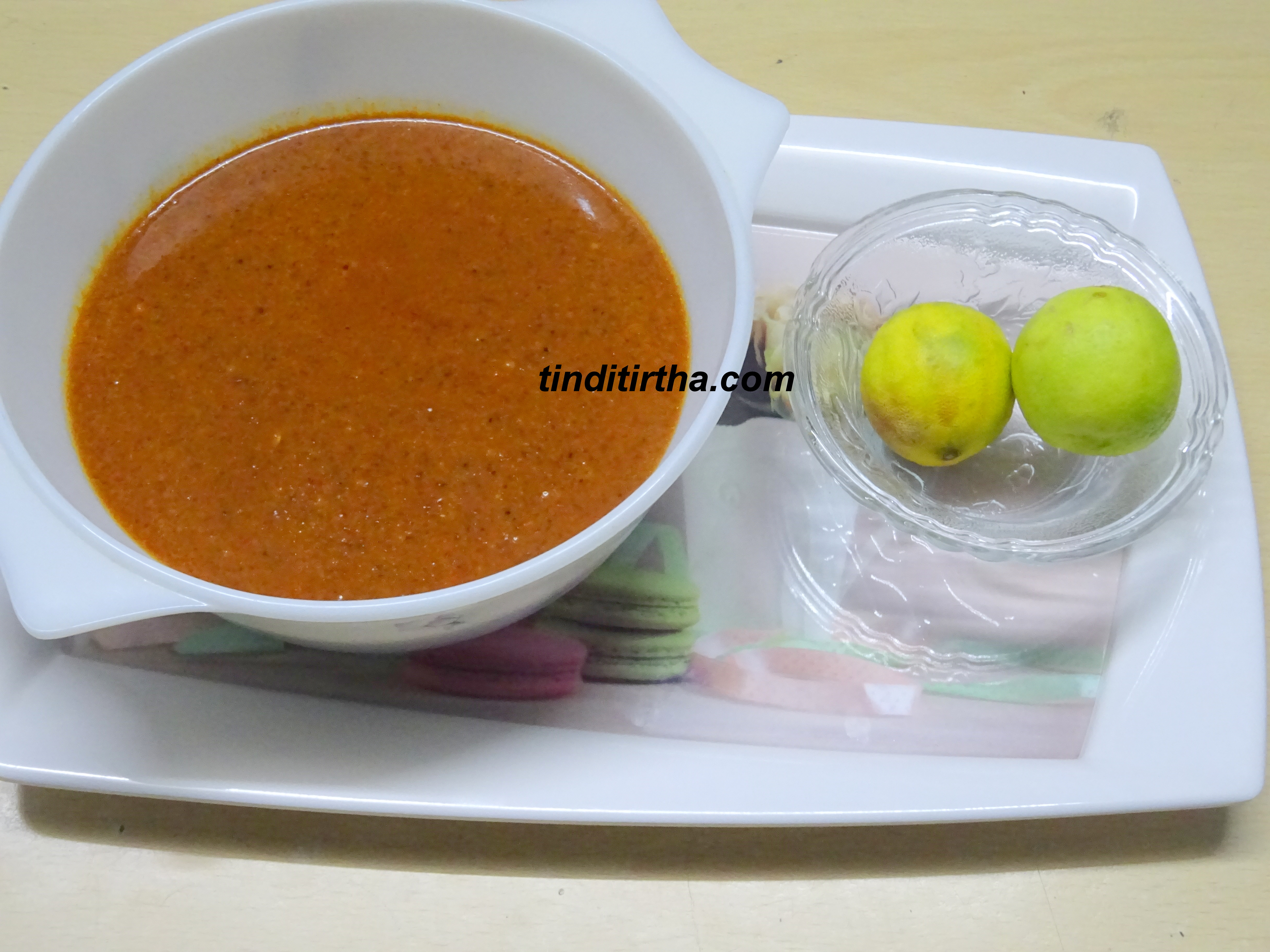 NIMBE HANNU GOJJU / LEMON/JUICE CURRY