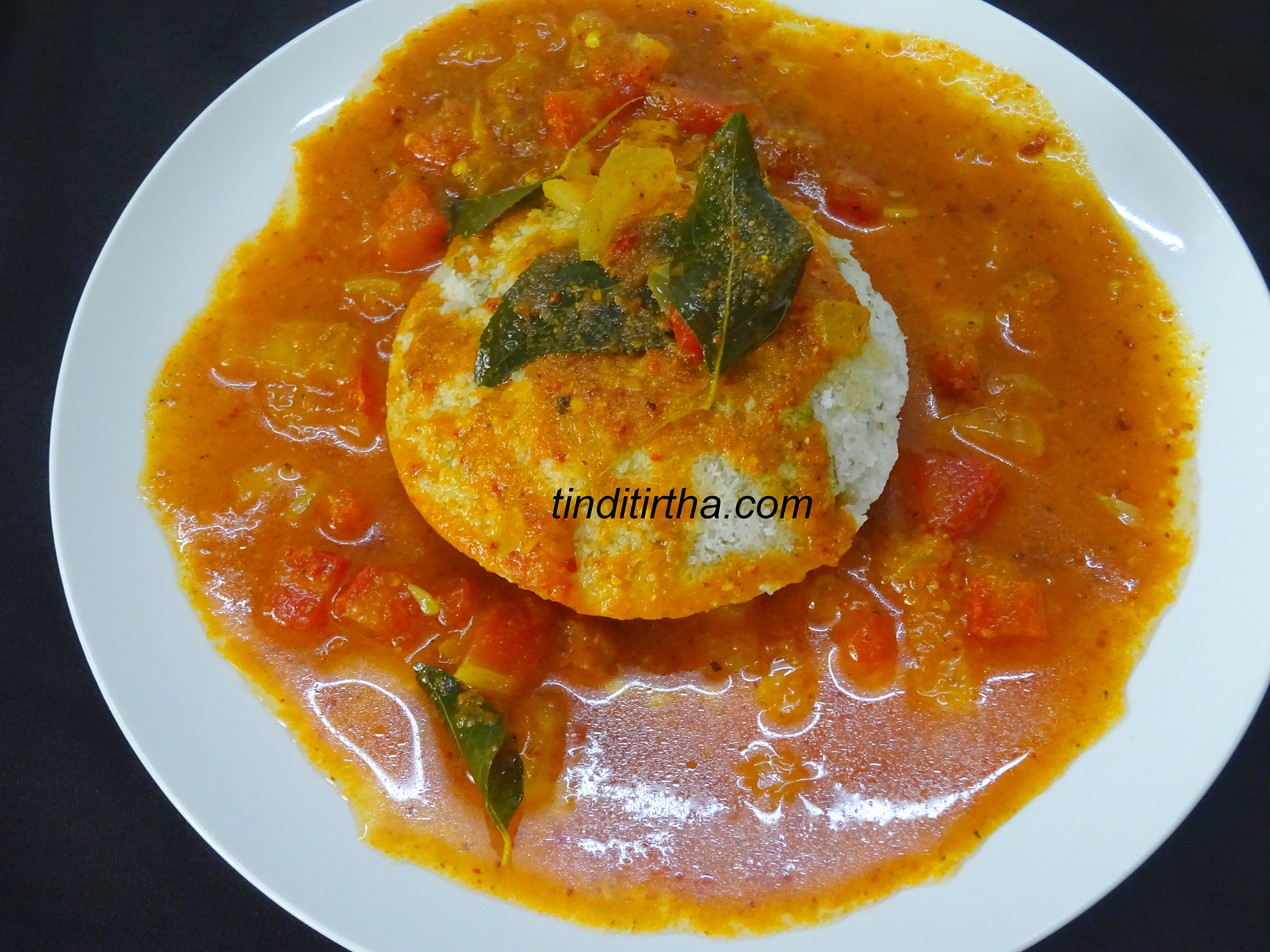 IDLY-SAMBAR / LENTIL LESS SAMBAR FOR IDLY