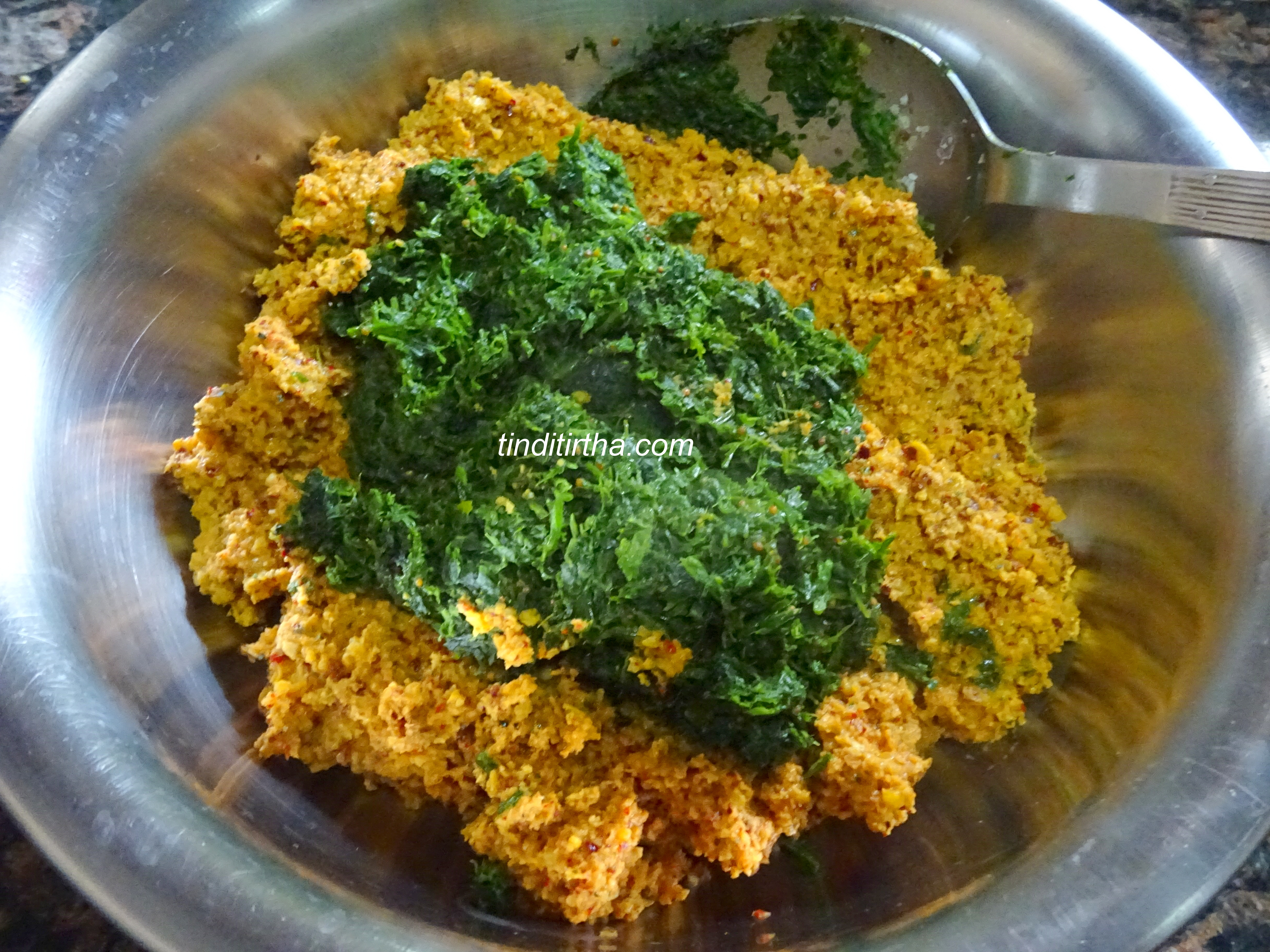 FENUGREEK LEAVES / MENTHYA SOPPU / METHI CHUTNEY