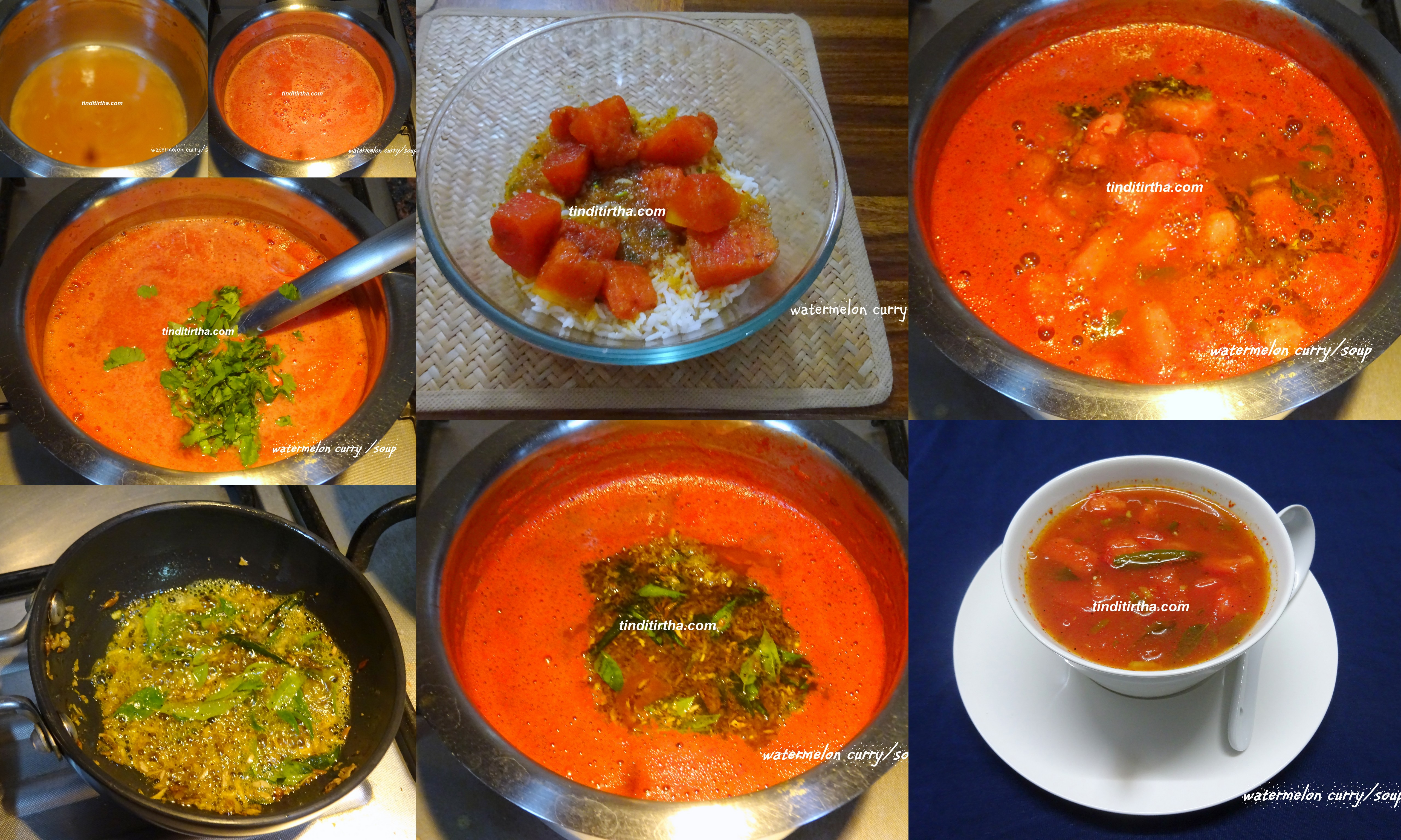 WATERMELON CURRY – SOUP