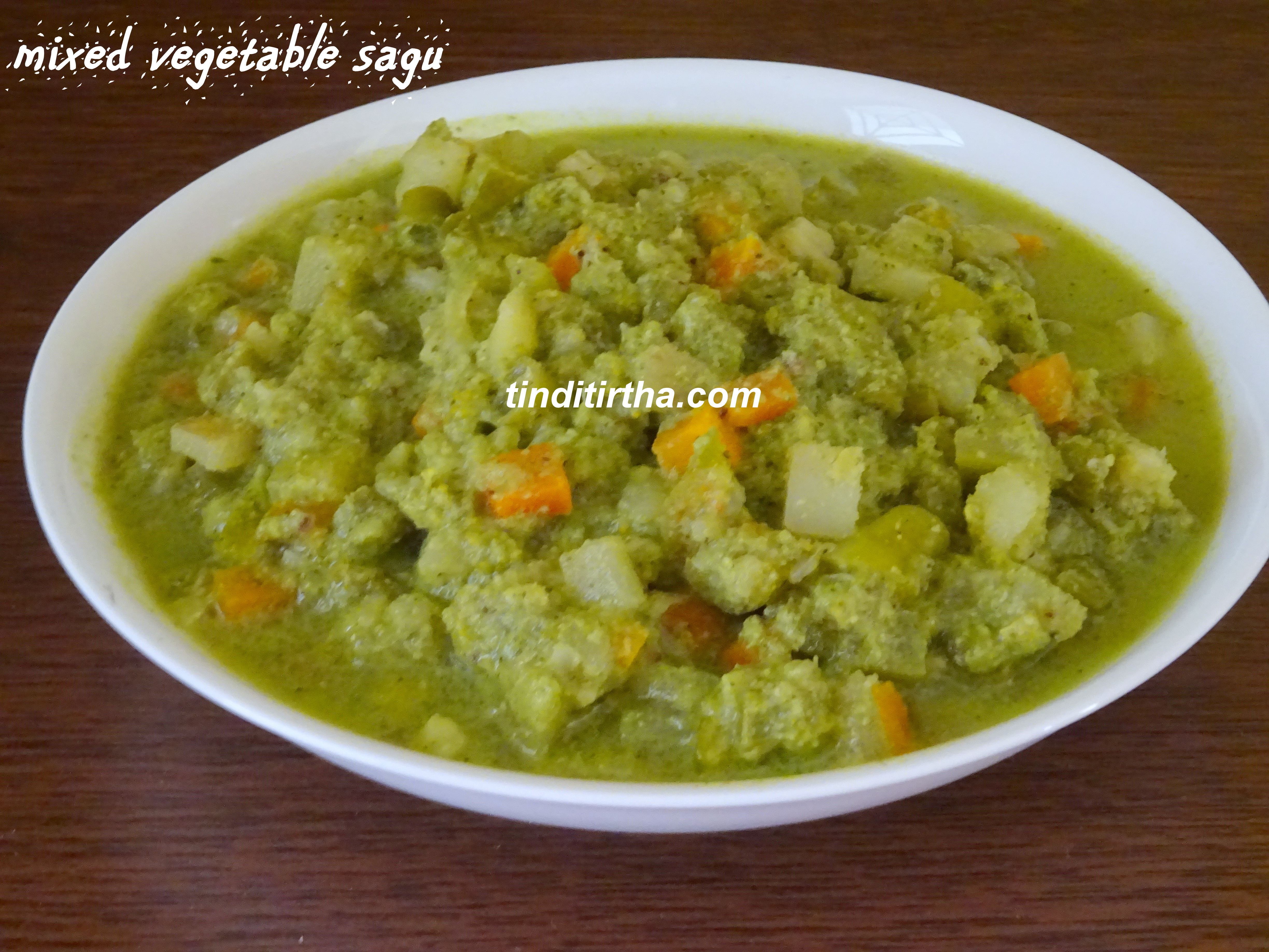 MIXED VEGETABLE SAGU/ CURRY