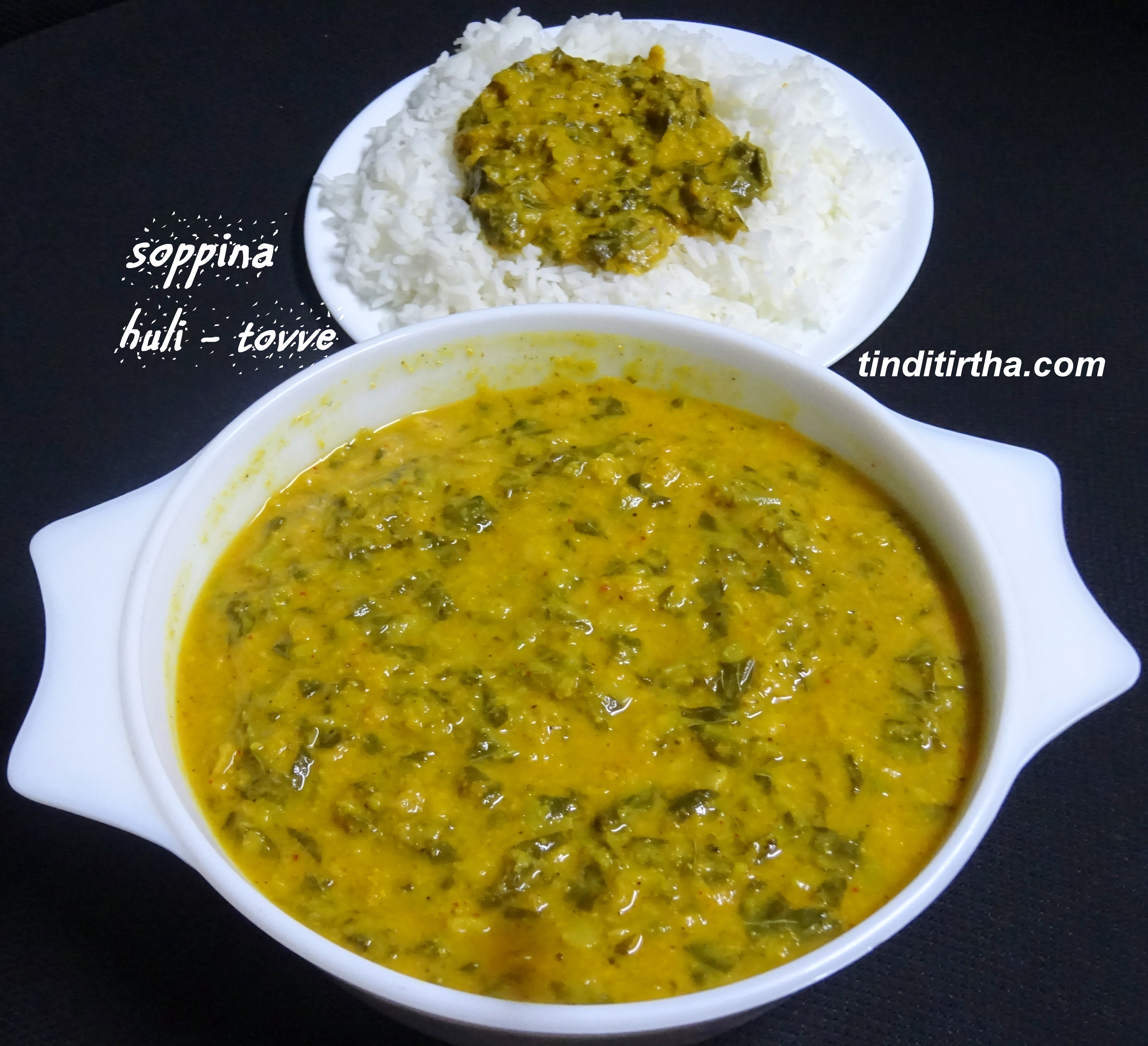 SOPPINA HULI TOVVE….an opos recipe as well